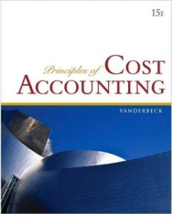 Test Bank (Complete Download) for  Principles of Cost Accounting