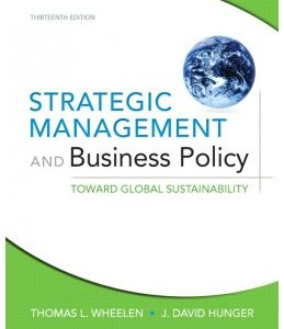 Test Bank (Complete Download) for  Strategic Management and Business Policy