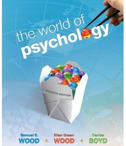 Test Bank (Complete Download) for  The World of Psychology