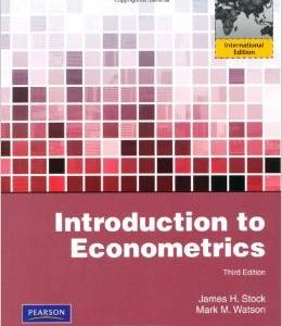 Test Bank (Complete Download) for  Introduction to Econometrics 3rd International Edition
