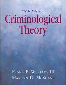 Test Bank (Complete Download) for  Criminological Theory 5th Edition
