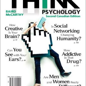 Test Bank (Complete Download) for THINK Psychology