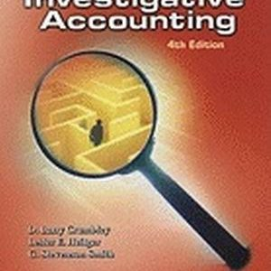 Test Bank (Complete Download) for Forensic and Investigative Accounting