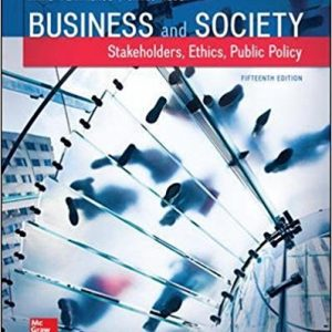 Test Bank for Business and Society: Stakeholders