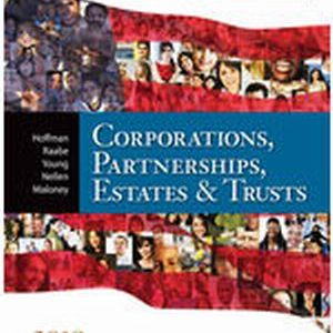 Solution Manual (Complete Download) for South-Western Federal Taxation 2018: Corporations
