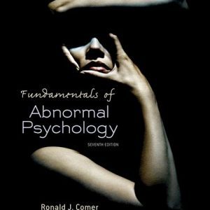 Test Bank (Complete Download) for Fundamentals of Abnormal Psychology
