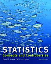 Test Bank (Complete Download) for Statistics: Concepts and Controversies