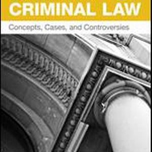 Test Bank (Complete Download) for Contemporary Criminal Law Concepts