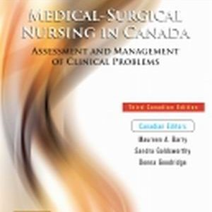 Test Bank (Complete Download) for Medical-Surgical Nursing in Canada