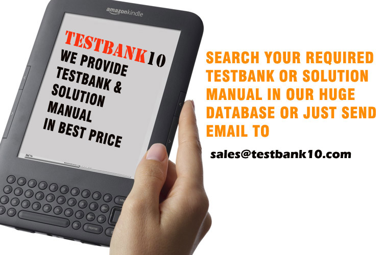 Test Bank & Solution Manual