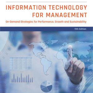 Test Bank (Complete Download) for Information Technology for Management: On-Demand Strategies for Performance