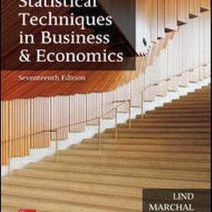 Test Bank (Complete Download) for Statistical Techniques in Business and Economics