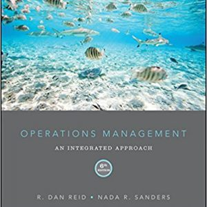 Test Bank (Complete Download) for Operations Management: An Integrated Approach