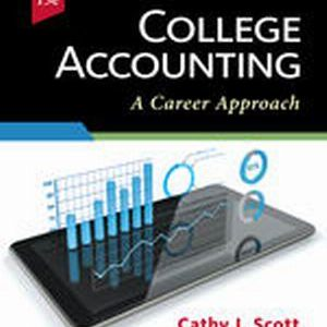Test Bank (Complete Download) for College Accounting: A Career Approach