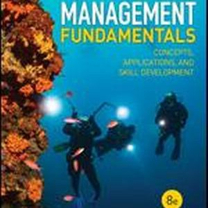 Solution Manual (Complete Download) for Management Fundamentals Concepts