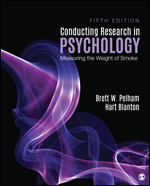 Solution Manual For Conducting Research in Psychology Measuring the Weight of Smoke 5th Edition By Brett W. Pelham, Hart Blanton ISBN: 9781544333342 Instantly Downloadable Solution Manual