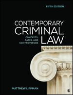Solution Manual (Complete Download) Contemporary Criminal Law Concepts, Cases, and Controversies 5th Edition By Matthew Lippman ISBN: 9781544308135,ISBN: 9781544342696 Instantly Downloadable Solution Manual