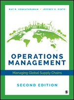 Solution Manual (Complete Download) Operations Management Managing Global Supply Chains 2nd Edition By Jeffrey K. Pinto, Ray R. Venkataraman ISBN: 9781544339399, ISBN: 9781544339405 Instantly Downloadable Solution Manual