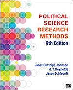 Solution Manual (Complete Download) Political Science Research Methods 9th Edition By H. T. Reynolds, Janet Buttolph Johnson, Jason D. Mycoff ISBN: 9781544331430, ISBN: 9781544331577 Instantly Downloadable Solution Manual