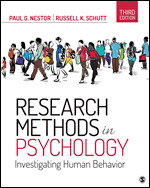 Solution Manual (Complete Download) Research Methods in Psychology Investigating Human Behavior 3rd Edition By Paul G. Nestor, Russell K. Schutt ISBN: 9781544323770 Instantly Downloadable Solution Manual