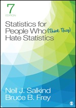 Solution Manual (Complete Download) Statistics for People Who (Think They) Hate Statistics 7th Edition By Bruce B. Frey, Neil J. Salkind ISBN: 9781071811757, ISBN: 9781071811771 Instantly Downloadable Solution Manual