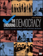 Test Bank (Complete Download) for The Enduring Democracy 6th Edition By Kenneth J. Dautrich, David A. Yalof, Christina E. Bejarano, ISBN: 9781544399942, ISBN: 9781544364476, ISBN: 9781071804339, ISBN: 9781071804346 Instantly Downloadable Test Bank