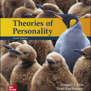 Solution Manual (Complete Download) For Theories of Personality 10th Edition By Jess Feist, Gregory Feist ,ISBN10: 1260175766 Instantly Downloadable Solution Manual