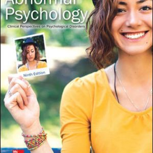 Solution Manual (Complete Download) For Abnormal Psychology: Clinical Perspectives on Psychological Disorders 9th Edition By Susan Krauss Whitbourne,ISBN10: 1260500195 Instantly Downloadable Solution Manual