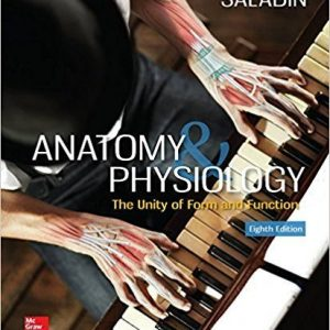 Test Bank (Complete Download) for Anatomy And Physiology The Unity Of Form And Function 8th Edition by Saladin ISBN: 9781259277726 Instantly Downloadable Test Bank