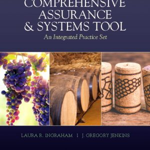 Solution Manual (Complete Download) for Comprehensive Assurance & Systems Tool (CAST), 4th Edition Laura R. Ingraham,J. Greg Jenkins,ISBN-139780135839669 Instantly Downloadable Solution Manual