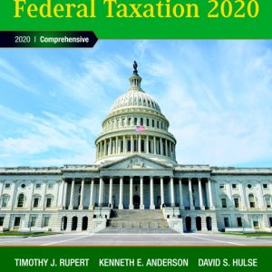 Solution Manual (Complete Download) for Pearson's Federal Taxation 2020 Comprehensive , 33rd Edition Timothy J. Rupert,Kenneth E. Anderson,David S. Hulse,ISBN-139780135196304 Instantly Downloadable Solution Manual