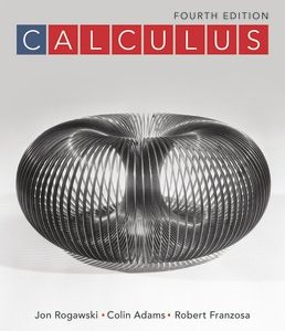Test Bank (Complete Download) for Calculus 4th Edition ©2019 by Jon Rogawski,Colin Adams,Robert Franzosa,ISBN9781319221287 Instantly Downloadable Test Bank
