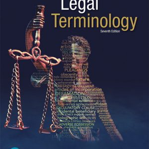 Test Bank (Complete Download) for Legal Terminology, 7th Edition By Kent D. Kauffman,Gordon W. Brown,ISBN-13 9780134871240 Instantly Downloadable Test Bank