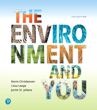 Test Bank (Complete Download) for The Environment and You, 3rd Edition, Norm Christensen, ISBN-10: 013478444 Instantly Downloadable Test Bank