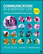 Test Bank (Complete Download) for Communication in Everyday Life The Basic Course Edition With Public Speaking 2nd Edition By Steve Duck, David T. McMahan, ISBN: 9781506377728