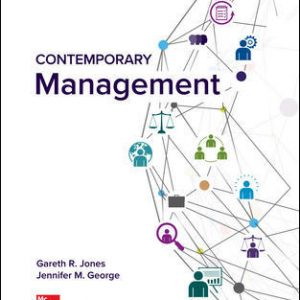 Test Bank (Complete Download) For Contemporary Management 11th Edition By Gareth Jones, Jennifer George, ISBN 10: 1260075095 Instantly Downloadable Test Bank