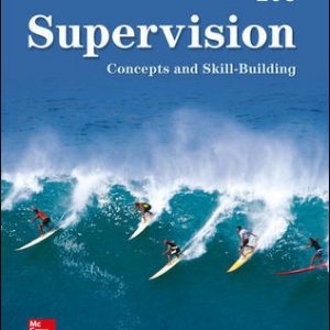Solution Manual (Complete Download) For Supervision: Concepts and Skill-Building 10th Edition By Samuel Certo, ISBN 10: 126002878X Instantly Downloadable Solution Manual