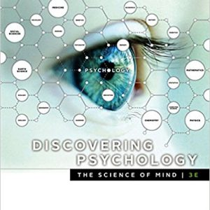 Test bank (Complete Download) for Discovering Psychology the Science of Mind 3rd Edition John Cacioppo,Laura A. Freberg ISBN: 9781337561815 Instantly Downloadable Test Bank