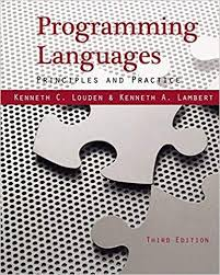 Test bank (Complete Download) for Programming Languages: Principles and Practices 3rd Edition Kenneth C. Louden, Kenneth A. Lambert ISBN: 9781111529413 Instantly Downloadable Test Bank