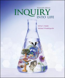 Test Bank (Complete Download) For Inquiry Into Life 16th Edition by Mader ISBN: 9781260231700 Instantly Downloadable Test Bank