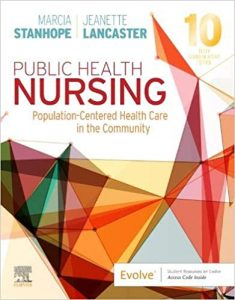 Test Bank (Complete Download) For Public Health Nursing 10th Edition by Stanhope ISBN: 9780323582247 Instantly Downloadable Test Bank