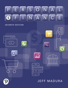 Solution Manual (Complete Download) for Personal Finance , 7th Edition By Jeff Madura,ISBN-13 9780135165461 Instantly Downloadable Solution Manual