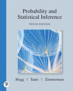 Solution Manual (Complete Download) for Probability and Statistical Inference, 10th Edition By Robert V. Hogg, Elliot Tanis, Dale Zimmerman, ISBN-10: 013518939X, ISBN-13: 9780135189399 Instantly Downloadable Solution Manual