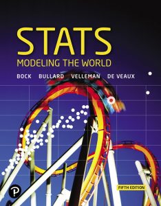Test Bank (Complete Download) for Stats: Modeling the World, Plus MyLab Statistics with Pearson eText 5th Edition By David E. Bock, Paul F. Velleman, Richard D. De Veaux, Floyd Bullard, ISBN-10: 0135168473, ISBN-13: 9780135168479 Instantly Downloadable Test Bank