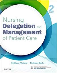 Test Bank (Complete Download) For Nursing Delegation and Management of Patient Care 2nd Edition by Motacki ISBN: 9780323321099 Instantly Downloadable Test Bank